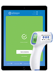 Safetemps app and thermometer