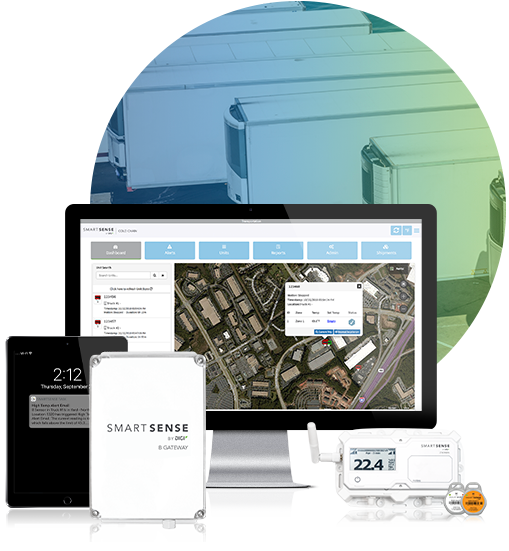 SmartSense system and refrigerated trucks