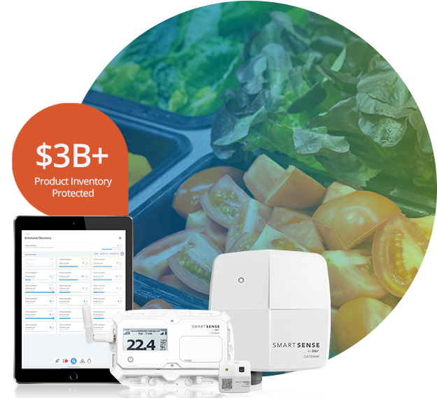 SmartSense System with salad bar