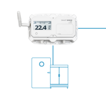 SmartSense Z Sensor and Refrigeration Units