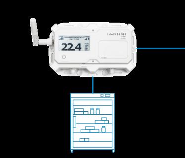 SmartSense Sensor with pharmacy freezer